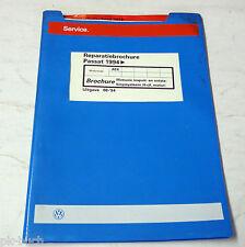 Reparatiebrochure VW Passat B 4 Motronic inspuit- en ontstekingssysteem 4-cil.
