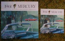 1961 Mercury Big Car Sales Brochures  61lot of 2