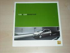 36783) Renault Clio + Grandtour Polen Prospekt 2008