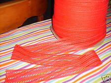 "1 3/4"" RED Hot TRIPLELADDER Lace trim 5 Yds Corset Projects UNIQUE  !!!"