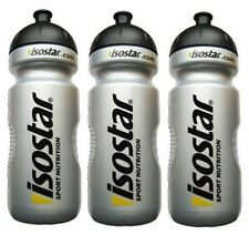 Isostar 3 X Water Bottle 650ml (22oz) Bike Cycle Gym Sports Fitness Running !!!