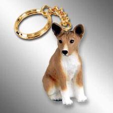 Basenji Dog Tiny One Resin Keychain Key Chain Ring