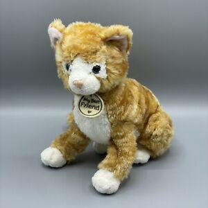 "Hallmark My Best Friend 10""Tabby Kitty Cat Plush"