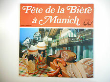 33 TOURS LP ▒ FETE DE LA BIERE A MUNICH : HOLZHACKERTANZ