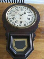 Antique E. Ingraham 31 Day Wall Clock