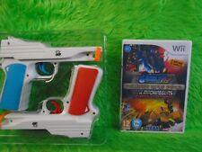 WII GUNBLADE NY & La máquina Armas + 2 Wii PISTOLA ACCESORIOS PAL RU Versión