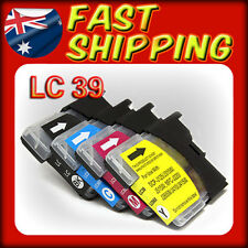 10 x Ink Cartridges LC39 LC985 for Brother DCP J125 J315W J515W MFC J220 Printer