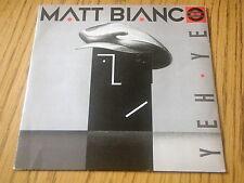 "MATT BIANCO - YEH YEH    7"" VINYL PS"