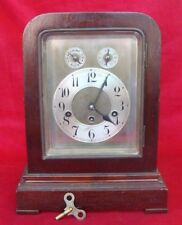 Antique JUNGHANS WURTTEMBERG German Mantle Bracket Clock(chimes on the1/4 hour)