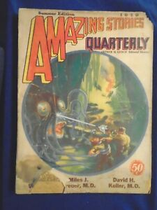 Pulp Lot #27  Amazing Stories Quarterly!!