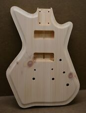 AR-Style Unfinished Guitar Body Knotty Pine Fits Strat Neck (3 lbs 12 oz)