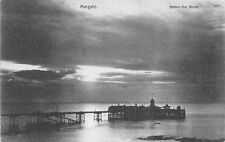 POSTCARD     KENT   MARGATE     The  Pier   Before  the  Storm