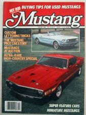 MUSTANG by HOT ROD 1984 WINTER V 2, #4 - HI COUNTRY