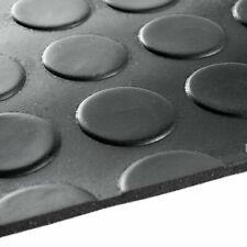 Tappeto antiscivolo gomma nero rotolo 10M.x h120 robusto passatoia zerbino bolle