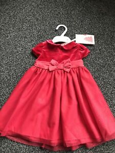 Boots Mini Club Christmas Baby Dresses