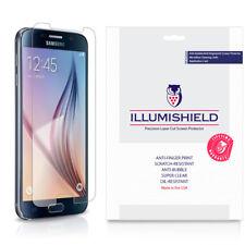 iLLumiShield Screen Protector w Anti-Bubble/Print 3x for Samsung Galaxy S6