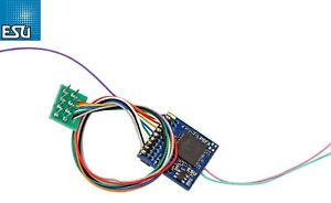 ESU 59220 LokPilot Fx 5.0 Funktionsdecoder DCC 8-pol. Stecker NEM 652 NEU + OVP