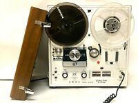 Vintage Akai X-150D Reel to Reel Tape Recorder Deck - One Minor Issue