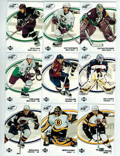2005-06 UPPER DECK ICE 100-CARD BASE SET LOADED W/STARS