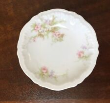 Theodore Haviland Limoges PINK ROSES H1614 Butter Pats ~ Set of 7