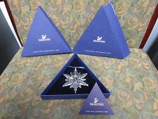 Swarovski Crystal Annual Edition Christmas Ornament 2006 with Coa