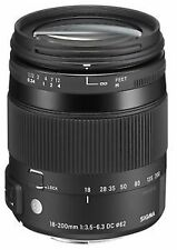 Sigma Lens for Sony SLR Camera