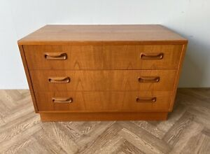 G PLAN FRESCO STUNNING VINTAGE CHEST OF 3 DRAWERS ** FREE DELIVERY **