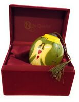 Ne' Qwa Art Glass Christmas Ornament and Keepsake Box