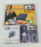 iOmega ZIP Super Floppy Disks Multi-Color 100MB PC Format (10 Pack)