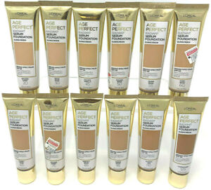 (2) Loreal Age Perfect Radiant Serum Foundation YOU CHOOSE YOUR COLOR