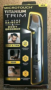 Micro Touch Titanium Trim at Home Hair Cutting Body Shaver and Groomer