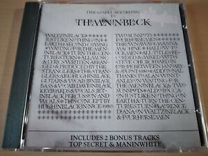 THE STRANGLERS - (The Gospel According To) The Meninblack CD New Wave / Punk