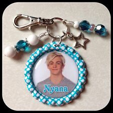 Personalized R5 ROSS LYNCH Bottle Cap Name Necklace Jewelry, Zipper Pull Pendant