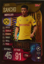 Topps UEFA Champions League 2019 - 2020 LIMITED EDITION GOLD SANCHO