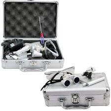 Dentist Loupes Dental Magnifier Glass Surgical Binocular Head Led Medical Light