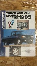 Chilton's 1991-1995 Truck and Van Manual