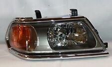 Right Side Headlight Assembly (Chrome) For 2000-2004 Mitsubishi Montero Sport