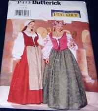 Factory Fold Butterick Renaissance Historical Costume Pattern Halloween 12-16P