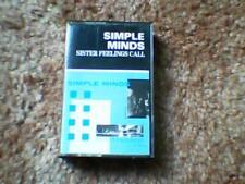 Simple Minds Sister Feelings Call 7 Track Cassette