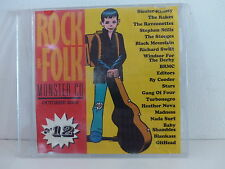 CD Sampler Rock & Folk 12 RAKES STOOGES BRMC EDITORS MADNESS TURBONEGRO RY COODE