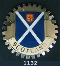 SCOTLAND FLAG CAR GRILLE BADGE EMBLEM FLAG OF SCOTLAND