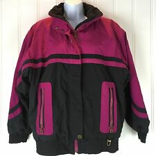 Bogner Original Classic Jacket Womens Size 8 Ski Snow Winter Pink Black USA Coat