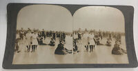1903 Beach Swimsuits Atlantic City New Jersey Berry Kelley & Chadwick Stereoview