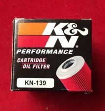 K&N OIL FILTER KN-139 SUZUKI LTZ 400 450 DRZ400 E S SM ARCTIC CAT DVX400 KFX400
