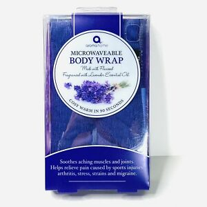 Aroma Home Body Wrap Lavender Microwaveable Pain Relief Hot Cold Aromatherapy