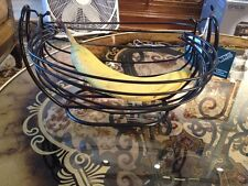 Swinging Fruit Basket By Creative Home - Iron-Works Brand New!!