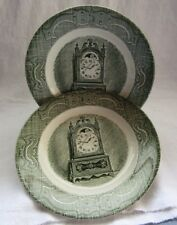"""VINTAGE CHINA THE OLD CURIOSITY SHOP 6-1/4"""" BREAD PLATE  2 PC."""