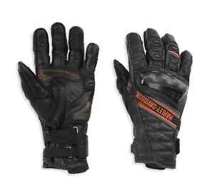 Harley-Davidson® Men's Passage Adventure Gauntlet Gloves, Black 98182-21VM