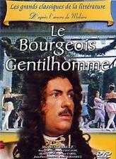 """DVD """"LE BOURGEOIS GENTILHOMME"""" Michel SERRAULT, Rosy VARTE, Michel CRETON"""