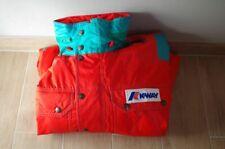 K-Way International Combinaison Ski Taille 46 1980s France Vintage Suit RARE